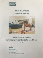 Nieuw: Online Personal Training ... Start nu!